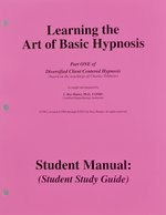 Hypno 101: Learning the Art of Basic Hypnosis 1 Workbook & Cd