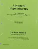 Hypno 103: Advanced Hypnotherapy Part 3 Workbook & Cd