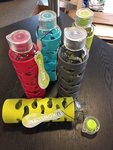 Water Bottle: Glass Reusable Bottle