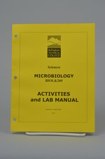 Biol 260   Microbiology Activities & Lab manual