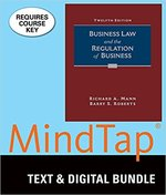 BUS 201: Business Law & The Regulation of Business Loose-Leaf w/MindTap Access Card