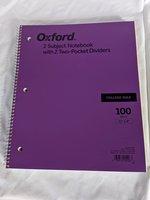 Notebook 2 subject 100sheet