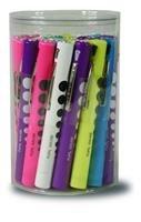 Penlight Bulk Disposable w/Pupil Gauge Assorted Colors